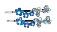 This set of SWAROVSKI CRYSTAL pins measure approximately 2.2 inches long. O13